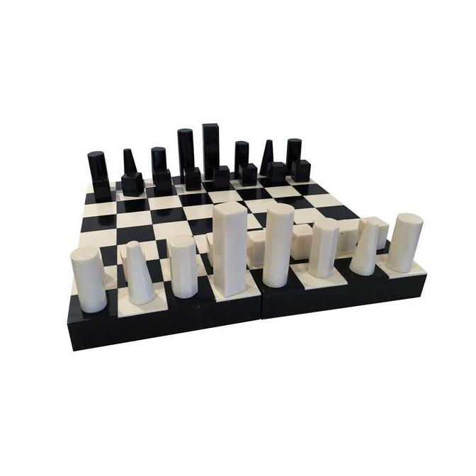 Bone and Horn Chess Set games A. Sanoma