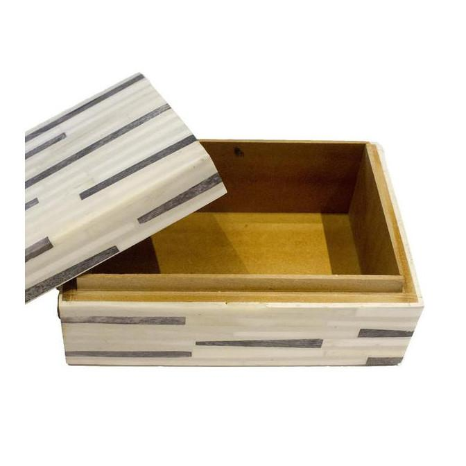 Grey Line Bone Box