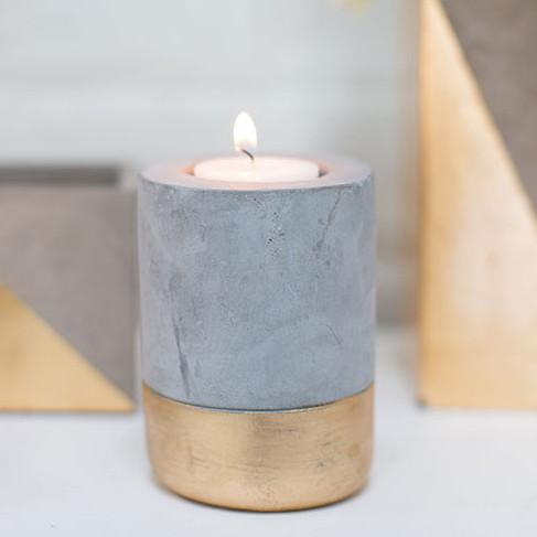 Deux Candleholder  Accent Decor candle holder - 2