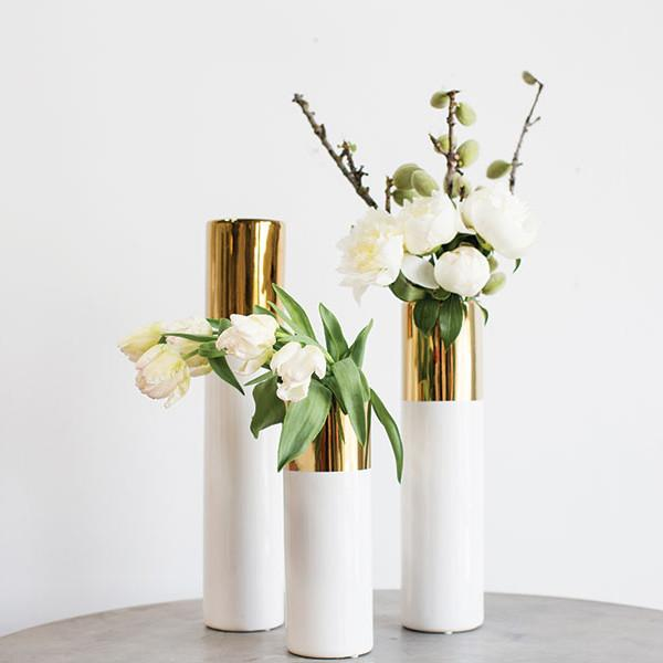 Klein Ceramic Vase  Accent Decor Vase - 1