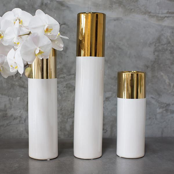 Klein Ceramic Vase  Accent Decor Vase - 2