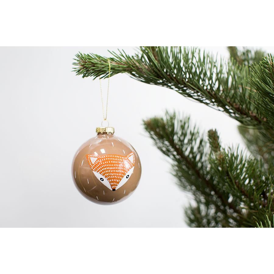 Wild Fox Ornament  Accent Decor Ornaments - 2