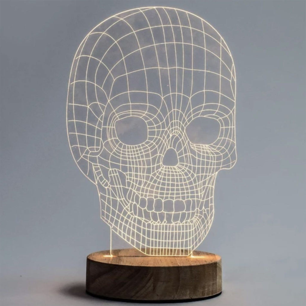 Skull Illusion Light LED Light Amped & Co