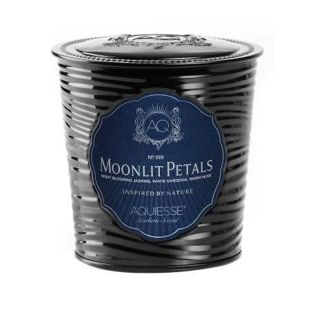 Moonlit Petals Candle 11oz Aquiesse Candles - 2