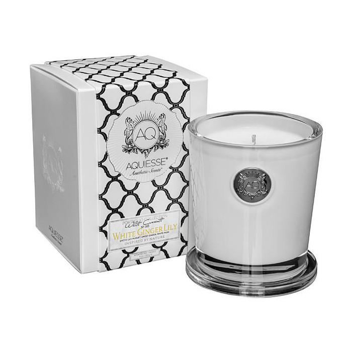 White Ginger Lily Candle