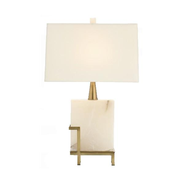 Herst Marble Lamp lighting Arteriors