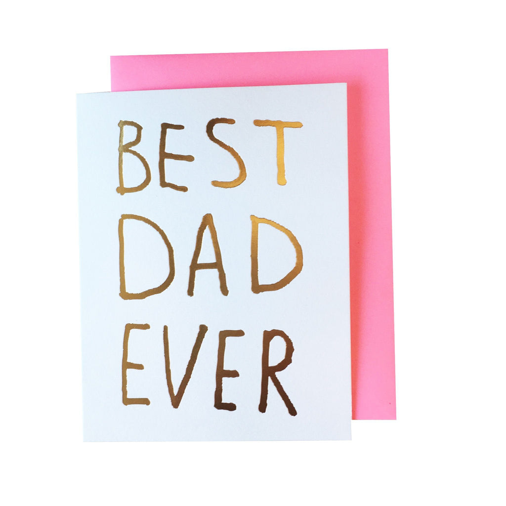 Best Dad Ever Card  Ashkahn Cards