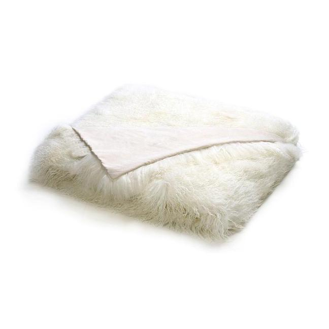 Tibetan Lambskin Throw Throw Curly Furs
