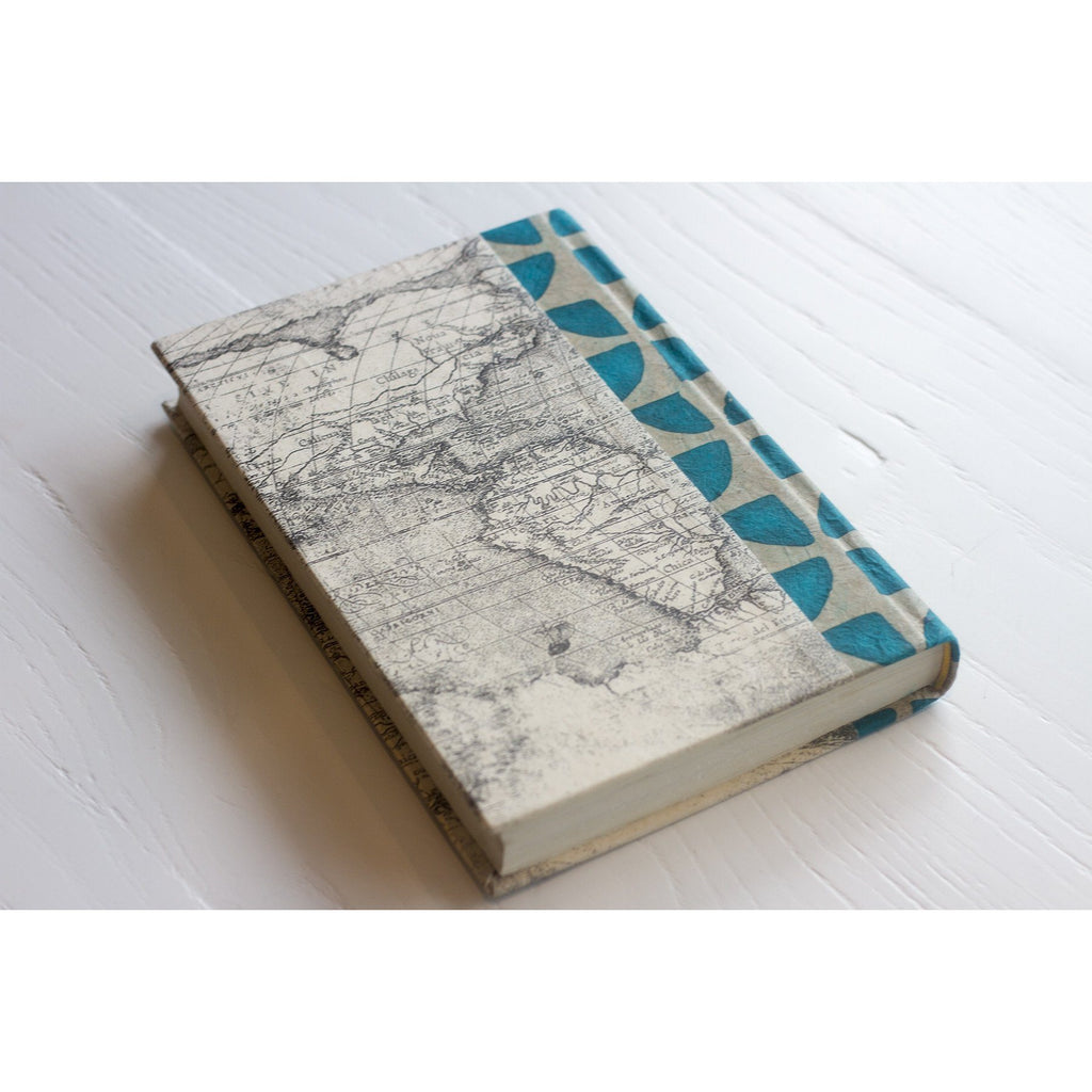 Turquoise Pinwheel Decorative Book  Go Home Ltd. Book - 2