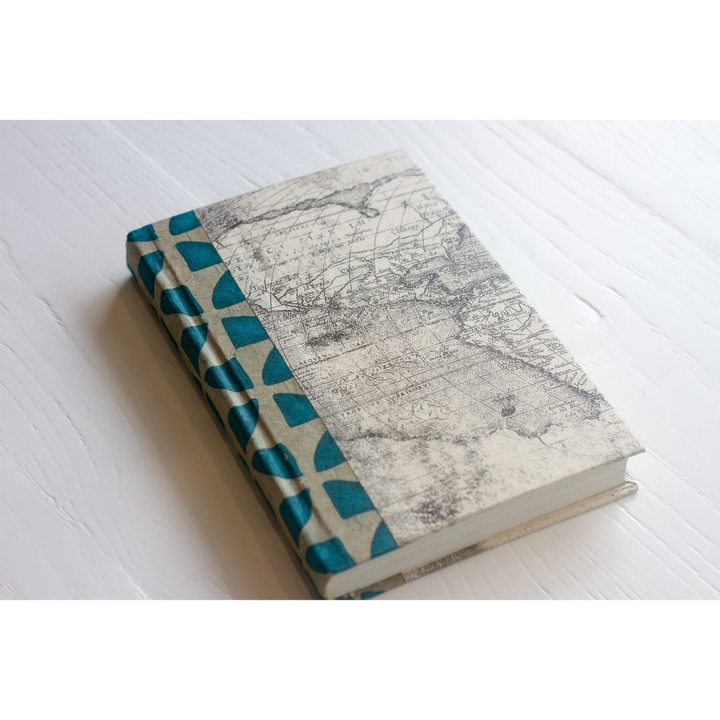 Turquoise Pinwheel Decorative Book  Go Home Ltd. Book - 1