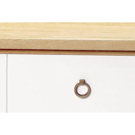 Brooklyn Oak 4 Drawer Dresser