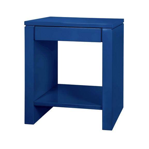 Otis Lacquered Wood Side Table