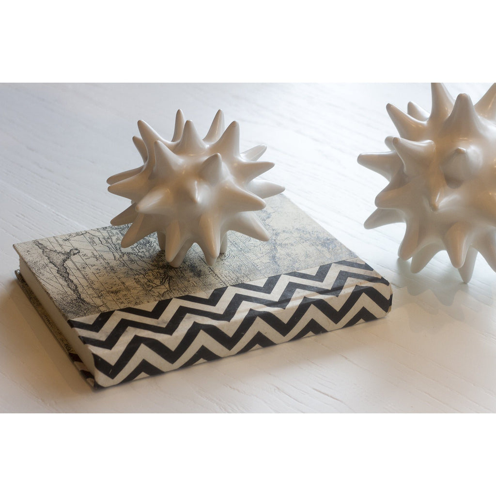 Black and White Chevron Decorative Book  Go Home Ltd. Accessories - 5