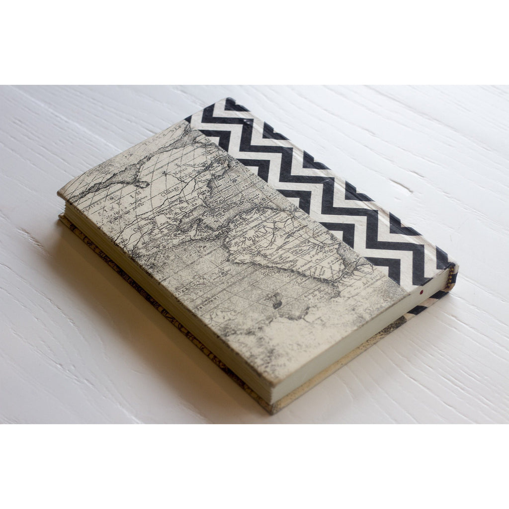 Black and White Chevron Decorative Book  Go Home Ltd. Accessories - 3
