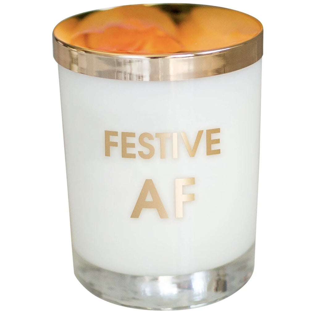 Festive AF Candle Candles Chez Gagne