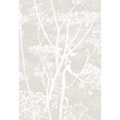 Cow Parsley Flower Wallpaper Wallpaper Lee Jofa Linen/White