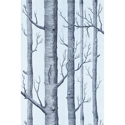 Woods Wallpaper Wallpaper Cole & Sons Chocolate/Silver