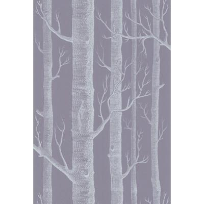 Woods Wallpaper Wallpaper Cole & Sons Ivory/Lilac