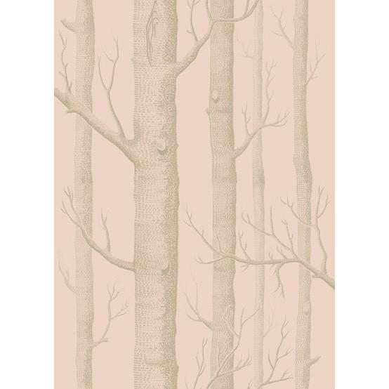 Woods Wallpaper Wallpaper Cole & Sons Pink/Gilver