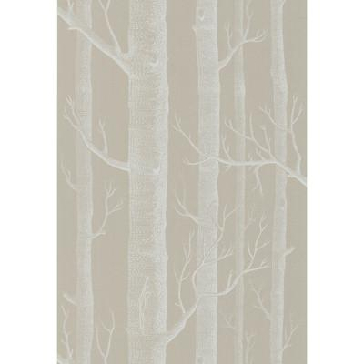 Woods Wallpaper Wallpaper Cole & Sons White/Taupe