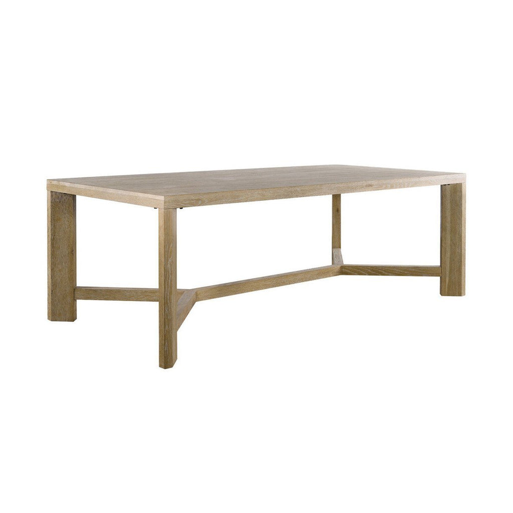 Grenoble Oak Dining Table  Curations LTD Tables - 1