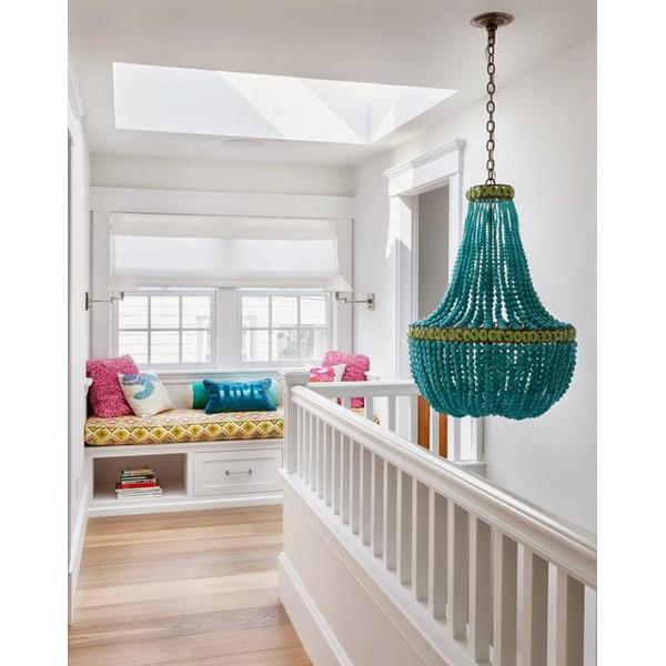 Hedy Glass Chandelier  Currey & Co Lighting - 3