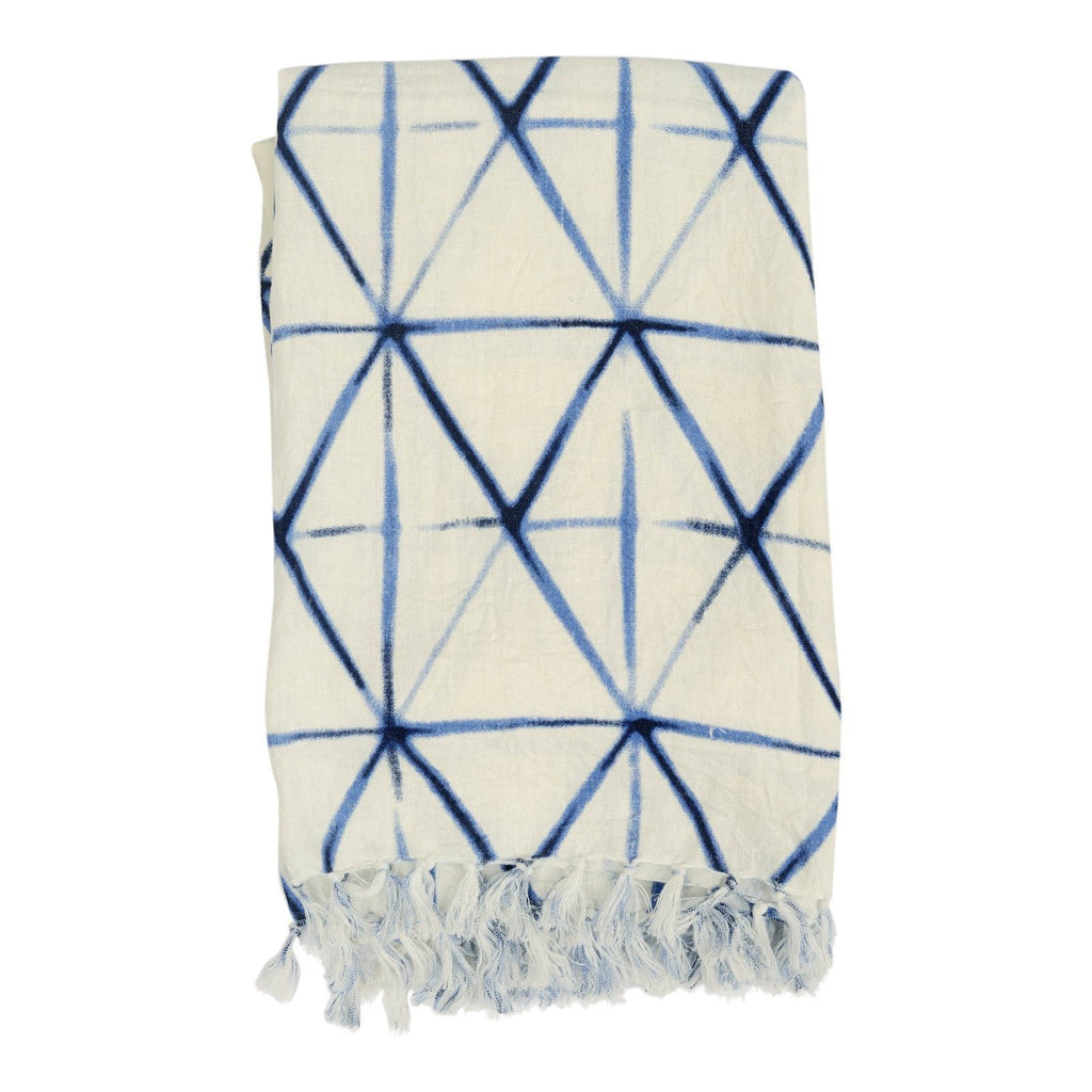 Rope Shibori Throw Blankets Darzzi