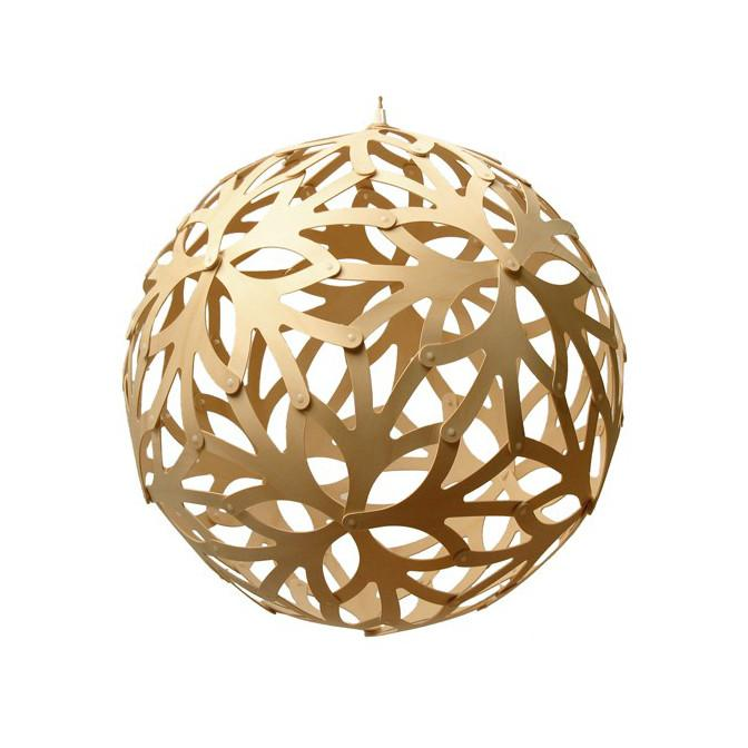 "David Trubridge Natural Floral Pendant Light 15"" David Trubridge Pendants - 1"