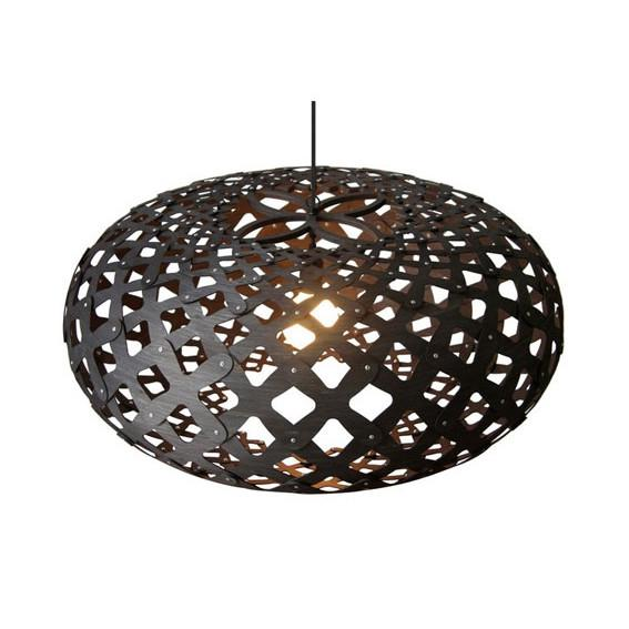 "David Trubridge Black Kina Pendant Light 32"" David Trubridge Pendants - 1"