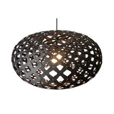 David Trubridge Black Kina Pendant Light 32