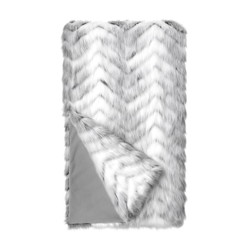 Crystal Fox Throw Blanket Throw Fabulous Furs