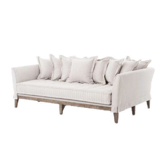 Day Bed Linen Sofa Sofa Four Hands
