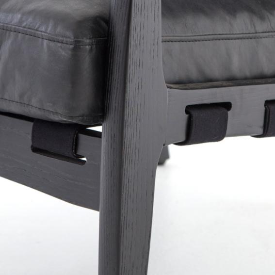 Silas Black Occasional Chair