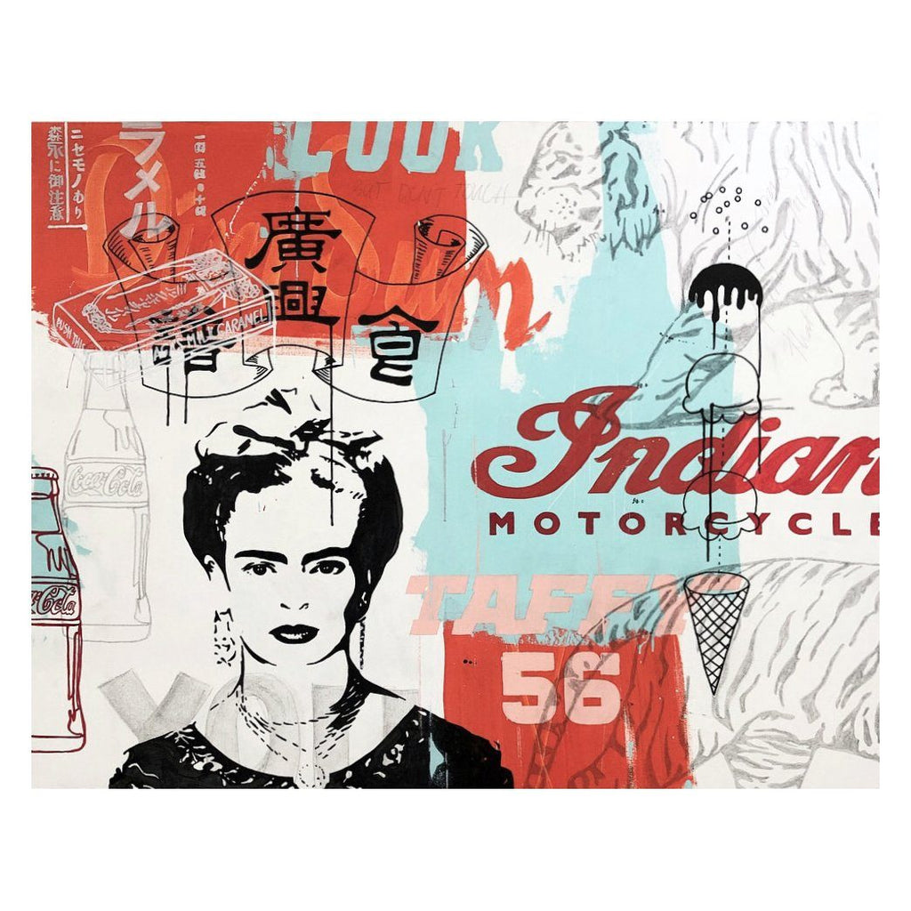 Frida | Original Art: Ron Guisti Wall Art Vanillawood