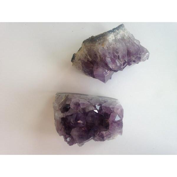 Geode Amethyst Bookends Accessories A. Sonoma