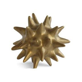 Bronze Urchin Ceramic Objet Sculpture Accessories Global Views