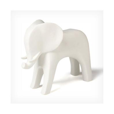 Elephant Objet Sculpture White Global Views Accessories - 3