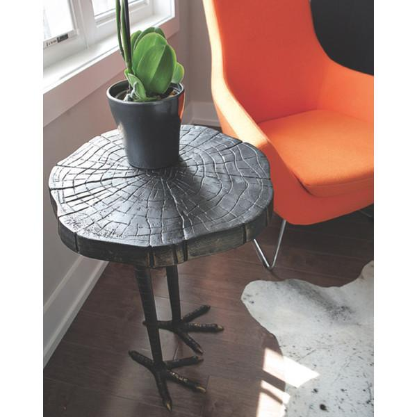 Ostrich Iron Side Table  Global Views Side Table - 3