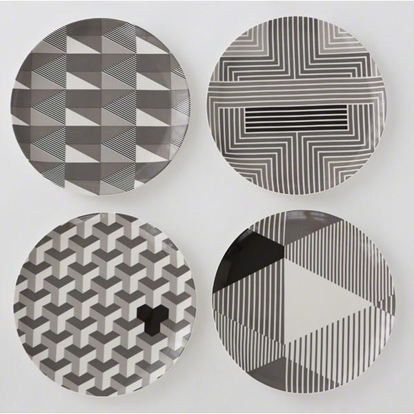 Piero Decorative Ceramic Plates  Global Views Accessories - 1