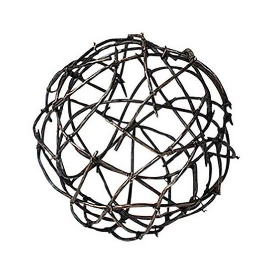 Twig Iron Ball Medium Global Views Accessories - 1