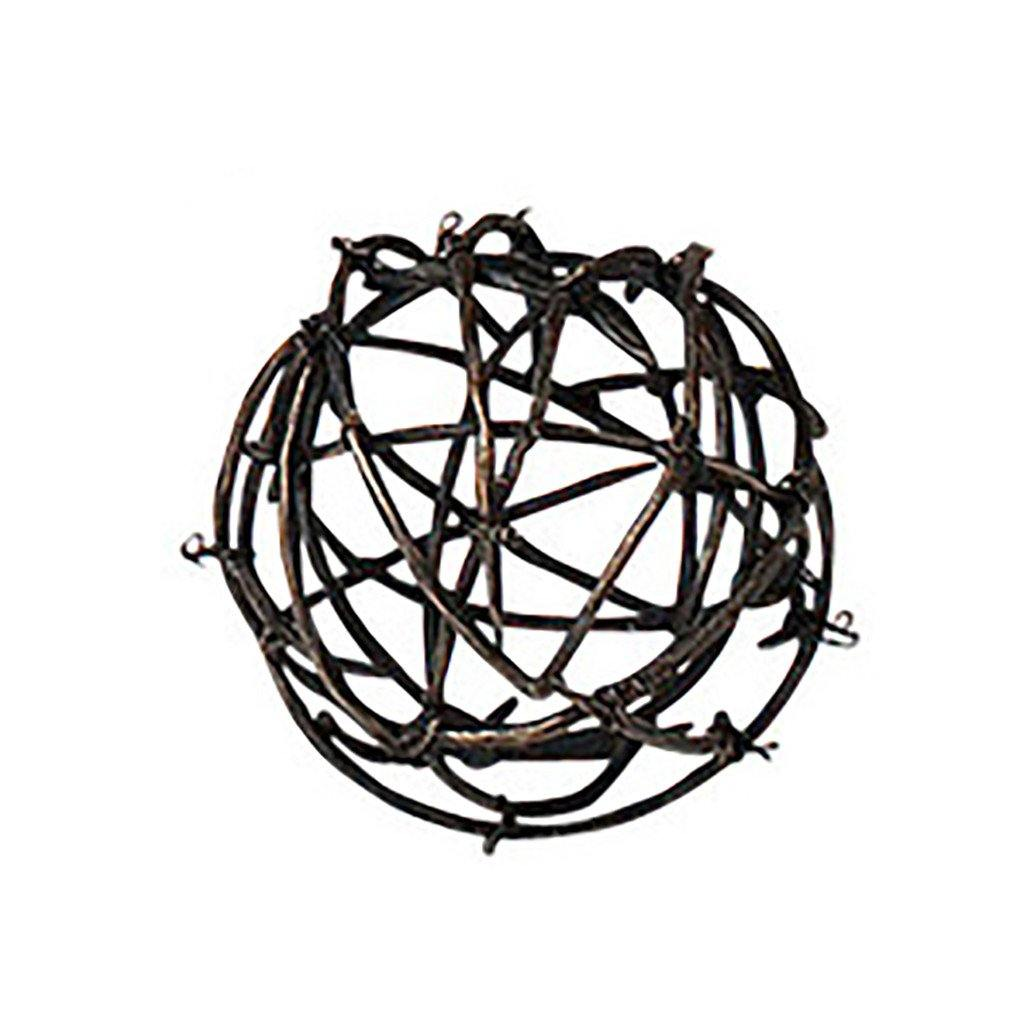Twig Iron Ball Small Global Views Accessories - 2