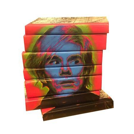 Andy Warhol Decorative Book Set Coffee Table Books Go Home Ltd.