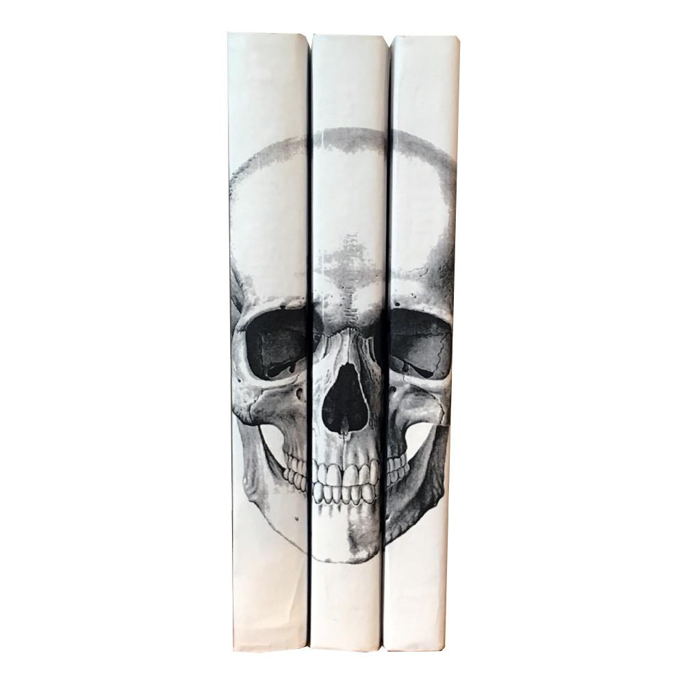 Black Skull Decorative Books Accessories Go Home Ltd.