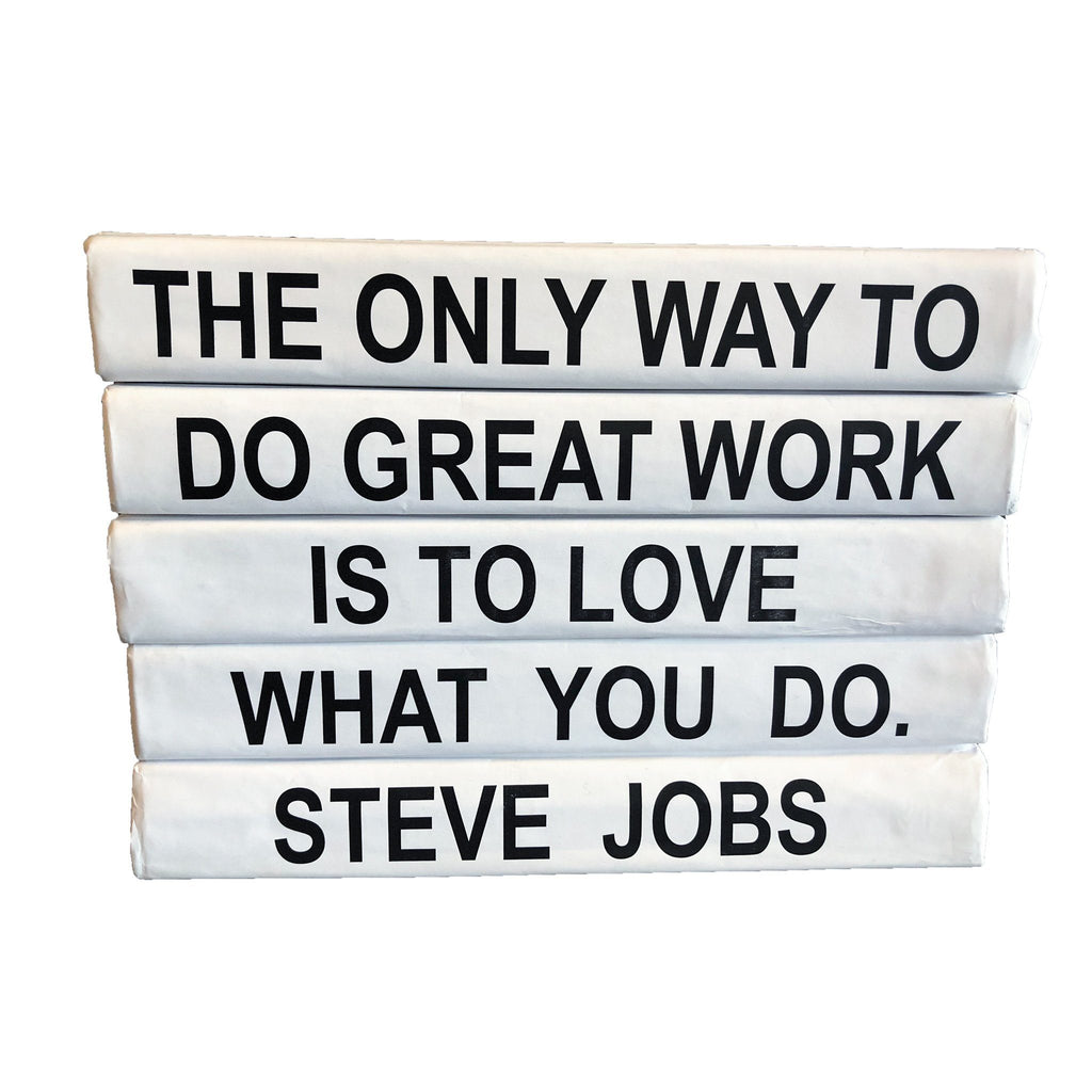 """Love What You Do ... "" Decorative Book Coffee Table Books Go Home Ltd."