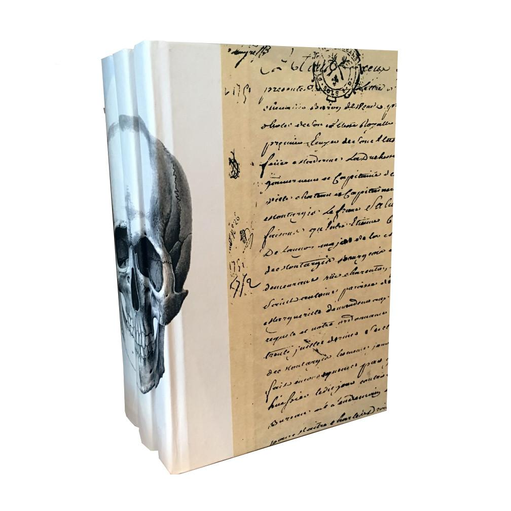 Black Skull Decorative Books  Go Home Ltd. Accessories - 2