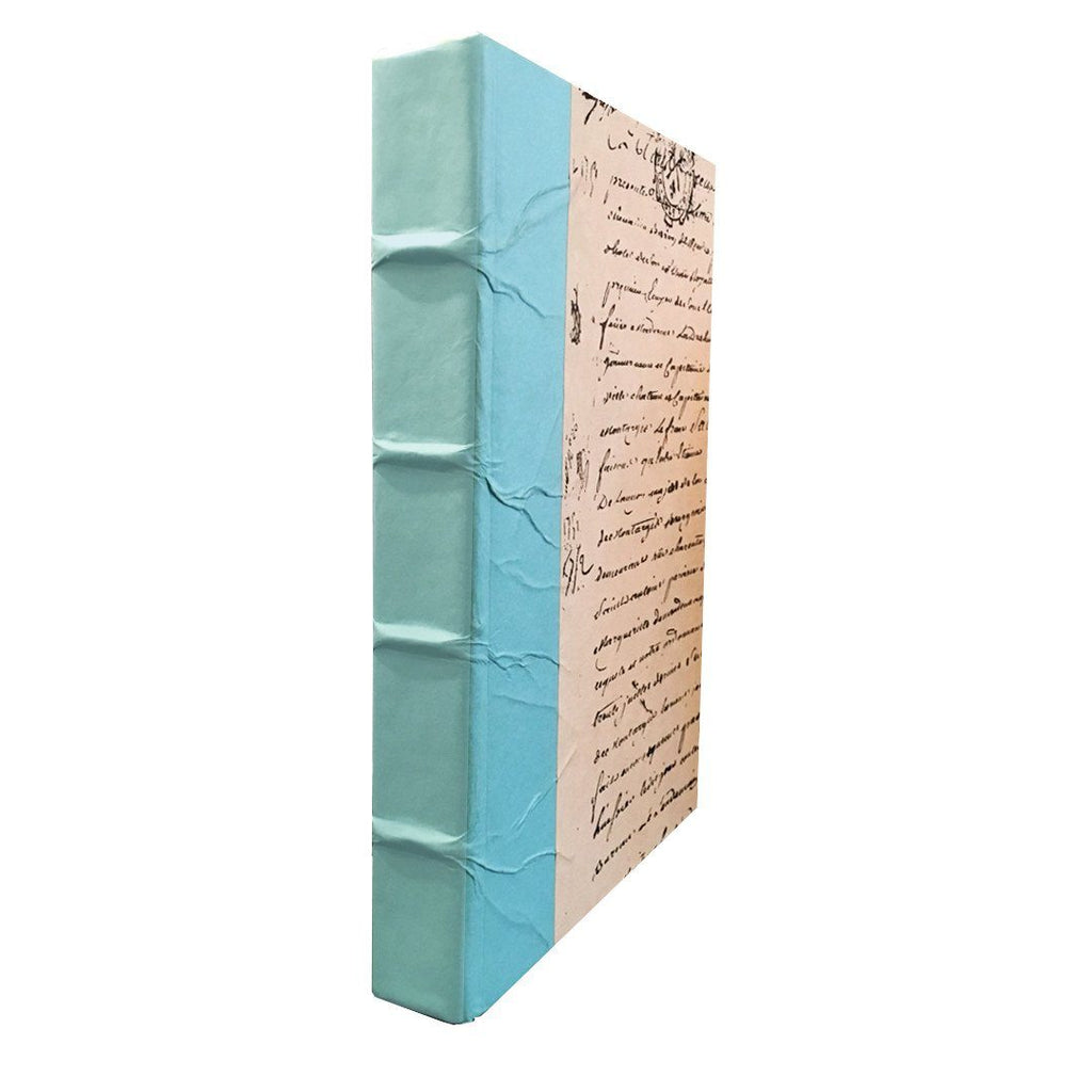 Turquoise Spine Decorative Book Accessories Go Home Ltd.