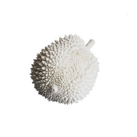 Durian Resin Fruit Sculpture  Gold Leaf Accessories