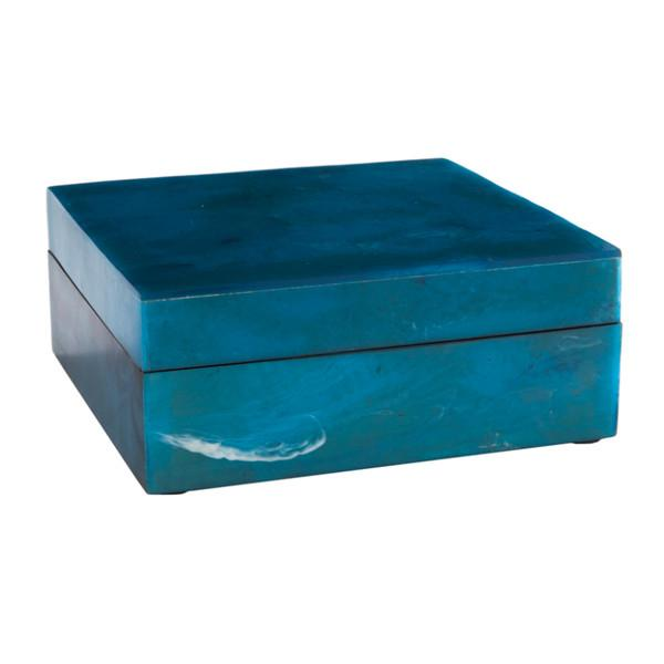 Resin Agate Keepsake Box  Gold Leaf Boxes