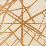 Channels Wallpaper Copper/Beige Groundworks Wallpaper - 4