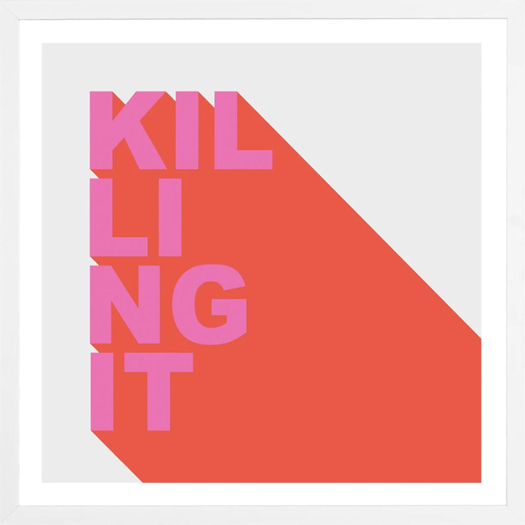 Killing It Frame Wall Art Wall Art Iamfy